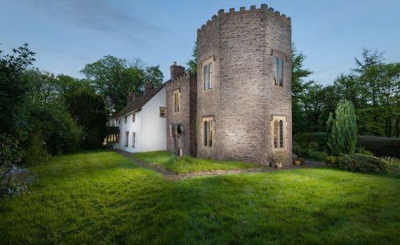 Abergavenny Wales Turret and House for sale