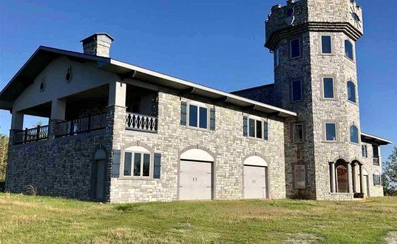 Arkansas Mountaintop Castle for sale