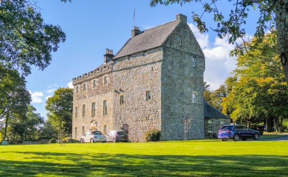 Bardowie Castle for sale East Dunbartonshire
