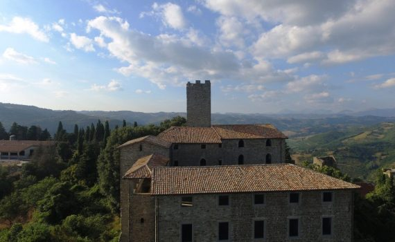 Biscina Umbria Italy Hilltop Castle for sale