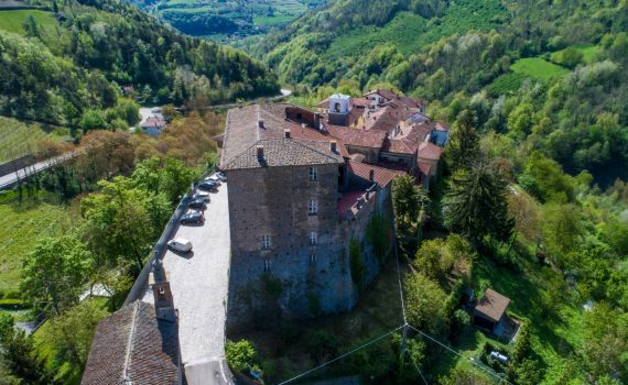 Borgomale Piedmont Italy Medieval Castle for sale