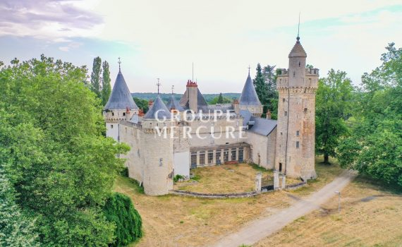 Bourges France Medieval Chateau for sale