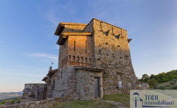 Castle near Todi for sale
