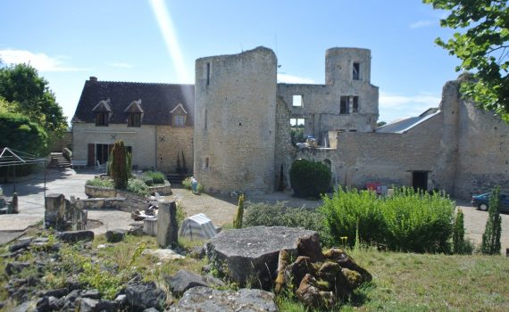 Chasseneuil Medieval Fortress for sale