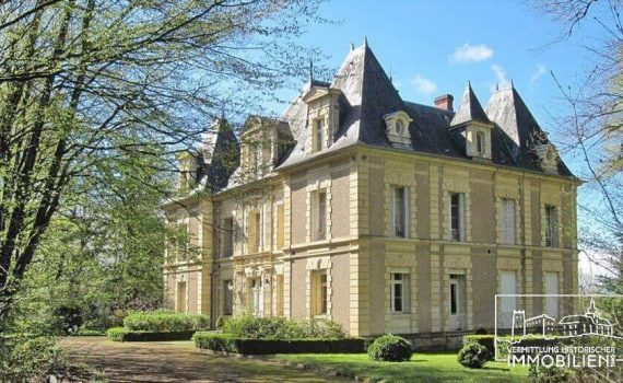 Chateau for sale nr Imphy Loire Valley