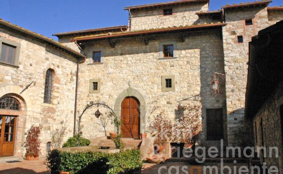 Chianti Castle for sale with Winery