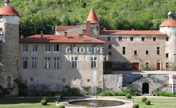Clermont Ferrand France Historic Monument Chateau for sale