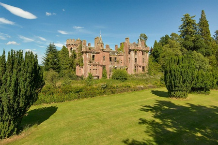 Culdees Castle Perthshire for sale