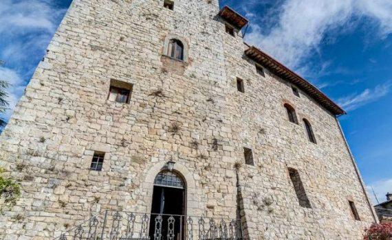 Gaiole in Chianti 10th century castle for sale