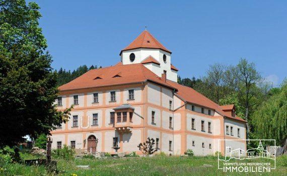German Castle for sale with restaurant Saxony Vogtland