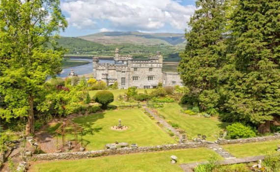 Glandyfi Castle for sale Snowdonia