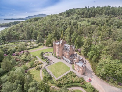 Glenborrodale Castle for sale
