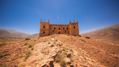Kasbah Tagountaft - Castle for sale