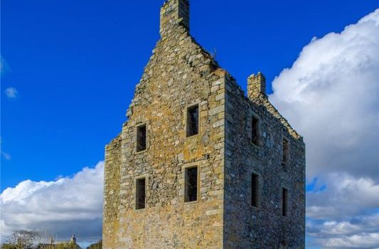 Knockhall Castle for sale Aberdeenshire