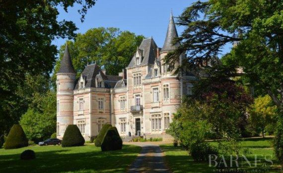 Les Herbiers France 17th and 19th century chateau for sale