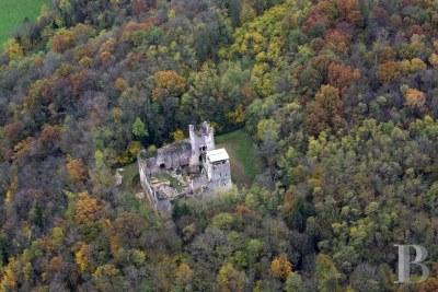 Listed Castle Ruins Ain France for sale