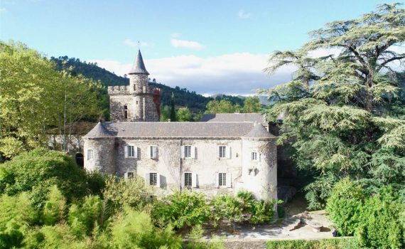 Lozere France X!V century Castle for sale