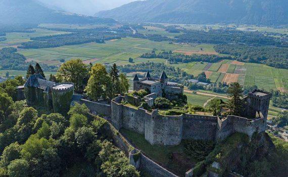 Medieval Castle for sale St Pierre d'Albigny France