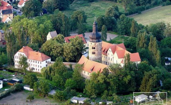 Moated castle hotel for sale Elb-Börde Germany