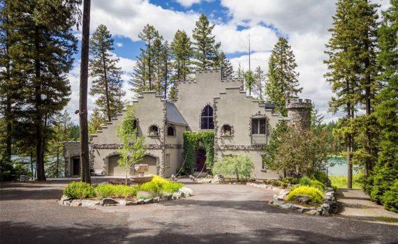 Montana USA Lakeside Castle for sale