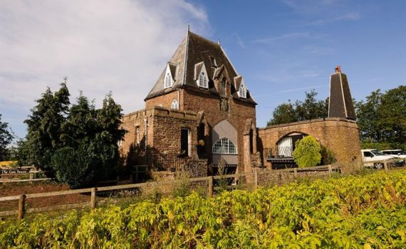 Neo-Gothic Gatehouse Pencraig Wales for sale