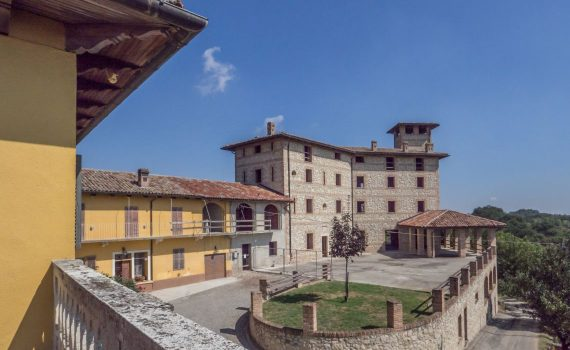 Odalengo Piccolo Piedmont Reconstructed Castle for sale