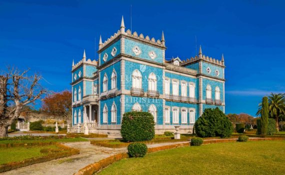 Portugal Palace with Vineyard for sale