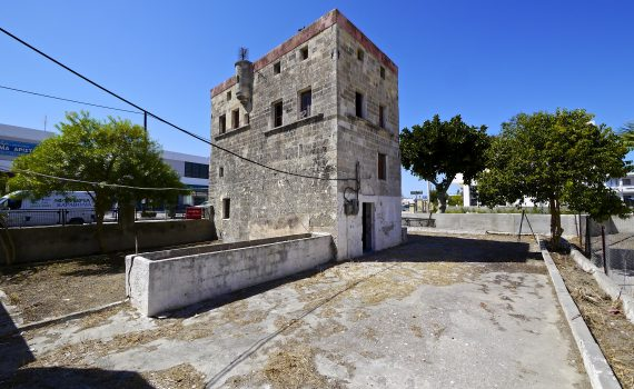 Rhodes Tower House for sale