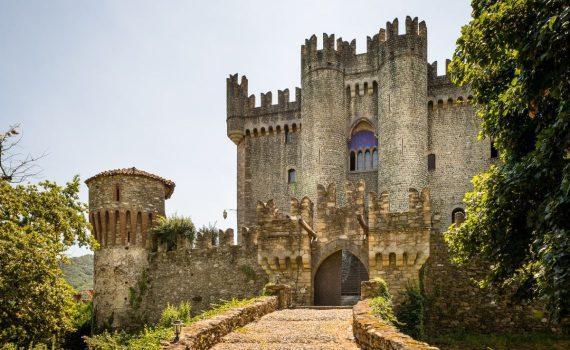 Saluzzo Italy Castle of Castellar for sale