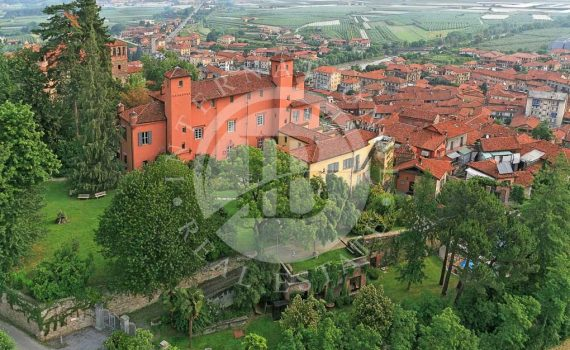 Saluzzo Piedmont Castle for sale