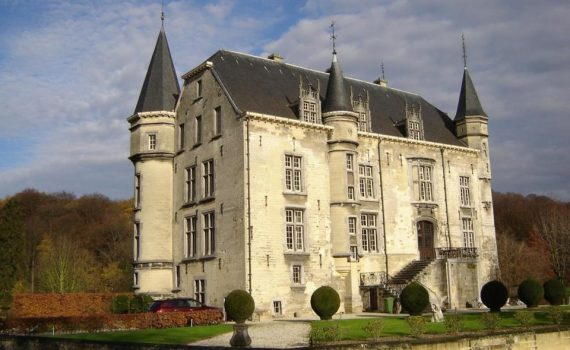 Schaloen Castle for sale Oud Valkenburg Limburg Netherlands