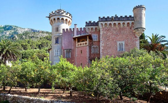 Soller Mallorca Fairytale Castle for sale