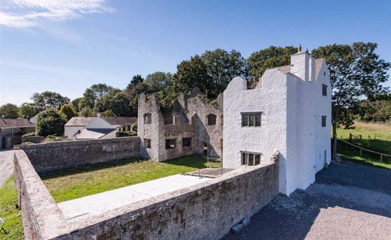 The Old Castle Llantwit Major Wales for sale