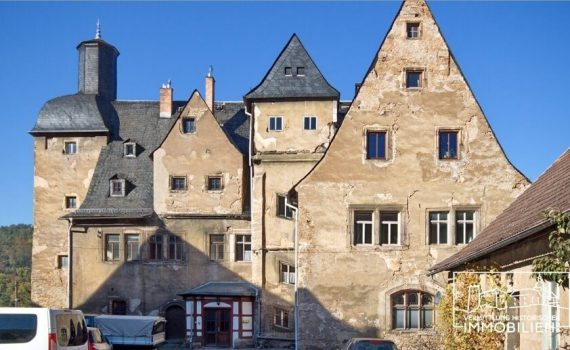 Thuringia castle for sale requiring renovation