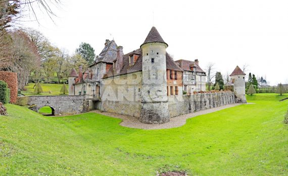 Touques Valley Medieval Castle for sale