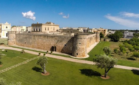 Tricase Italy Castle of Caprarica for sale