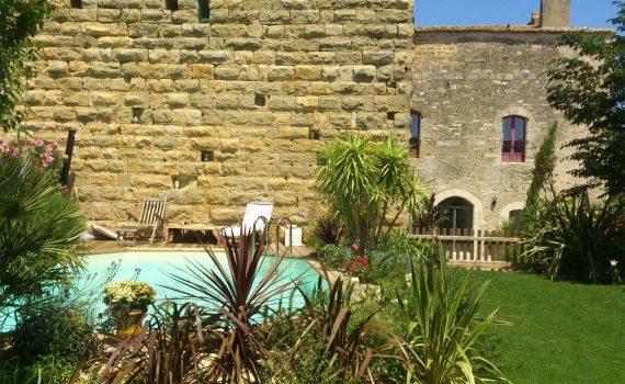 Uzes France 13th century castle for sale