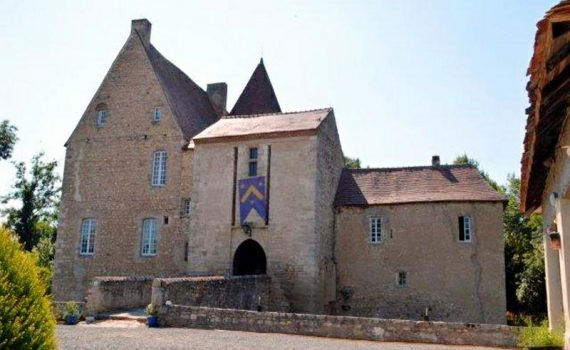 Vichy Moated Castle for sale