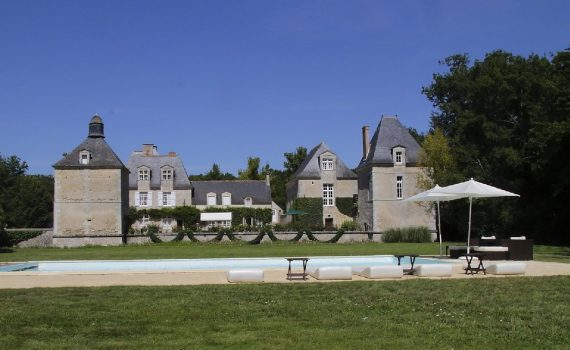 XVI Century Chateau nr Tours France for sale