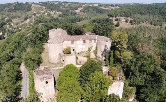 15th Century Moated CastleTarn et Garonne France 2