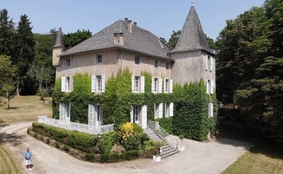 17th century Chateau Estate Saint-Girons France for sale 2