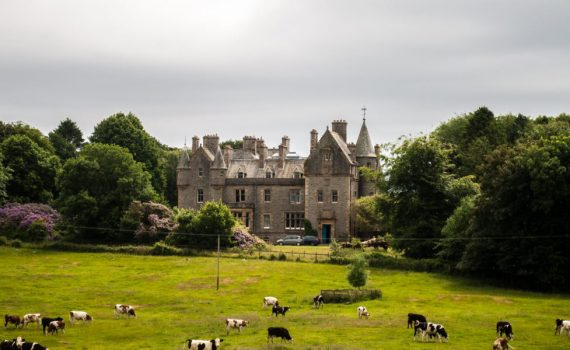 Orchardton Castle Scotland for sale 1