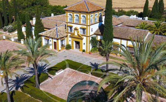 Palatial Estate for sale Seville Spain Villas and Fincas thumb